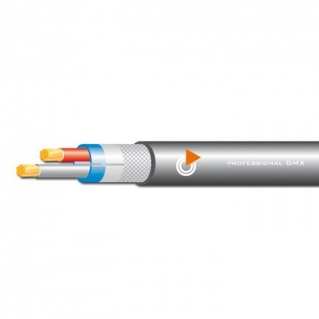DMX coaxial cable diam. 6.5 for digital DMX signal, an impedance of 120 ohms.