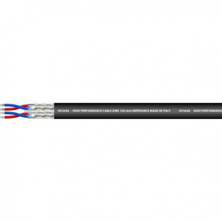Cable Channels 2 Balanced diam. 6.0 x 12.0 Shielded Cabling and audio signal to the meter