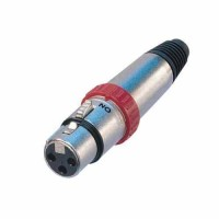Neutrik NC3FXS, Cannon XLR femmina 3 poli con interruttore on-off