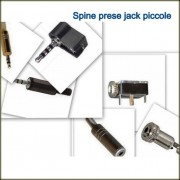 Connettori Spine Jack 3,5 - 2,5