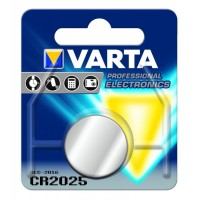 Batteria Pila a Bottone CR2025 VARTA a Litio 3.0V in blister
