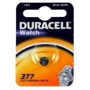 Batteria Pila a Bottone per Orologi 377 Duracell a Litio 1.5V in blister