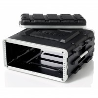 "bespeco, FLIGHT CASE IN ABS, Custodia 4 Unità RACK ""19"""