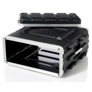 "FLIGHT CASE IN ABS, Custodia 2 Unità RACK ""19"""