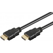 Cavo HDMI HD High Speed 1.4, standard, 2m. con Ethernet e contatti dorati