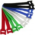InLine, Ties Velcro Cable tie Colourful, Diam. 12 mm, set of 10 pcs