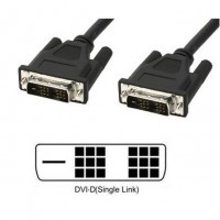 Cavo Monitor DVI digitale M/M Single Link 1,8 mt, DVI-D