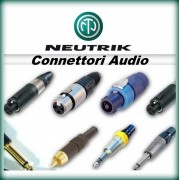 NEUTRIK Connettori Audio
