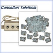 Telephony Connector and Plug
