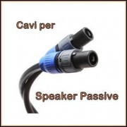 Cavi Speakon per casse Audio
